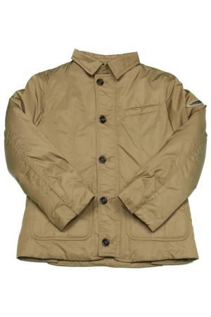 Куртка ASTON MARTIN. Цвет: бежевый