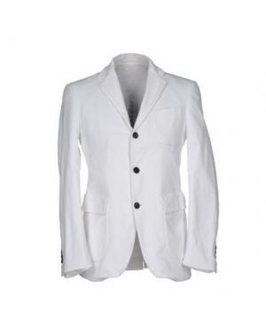 Пиджак WOOSTER + LARDINI. Цвет: белый