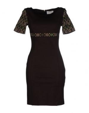 Короткое платье EAN 13. Цвет: какао