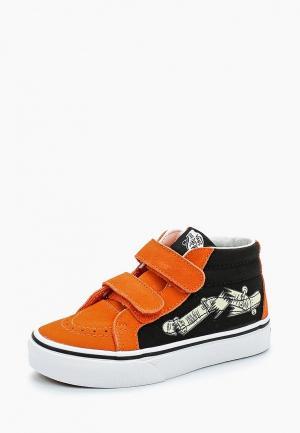 Кеды Vans. Цвет: оранжевый