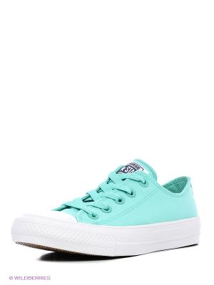 Chuck Taylor All Star II Converse. Цвет: зеленый