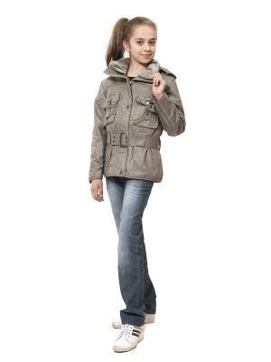 Куртка VELFI. Цвет: серый