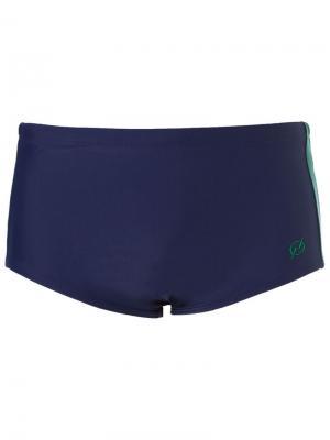 Side stipes swimming trunks Blue Man. Цвет: синий