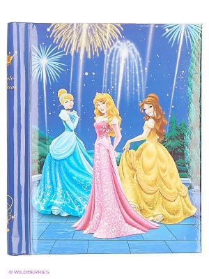 Фотоальбом 10 магнитных листов 23X28см,Gold princess VELD-CO. Цвет: синий