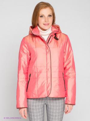 Куртка RIO VERTI. Цвет: розовый