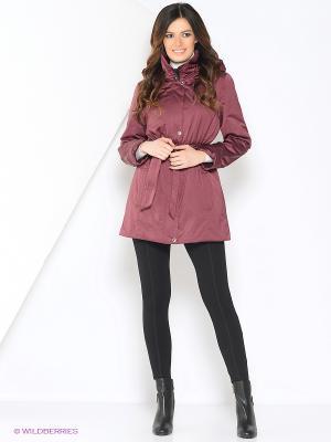 Куртка KITTY Maritta. Цвет: бордовый