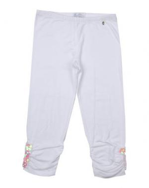 Повседневные брюки MICROBE. Цвет: белый