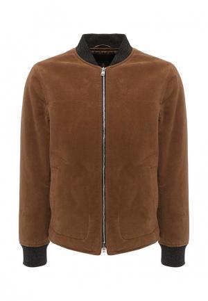Куртка утепленная Banana Republic. Цвет: коричневый