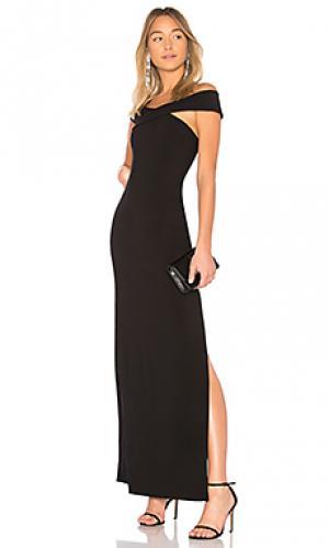 Вечернее платье darrah LIKELY. Цвет: черный