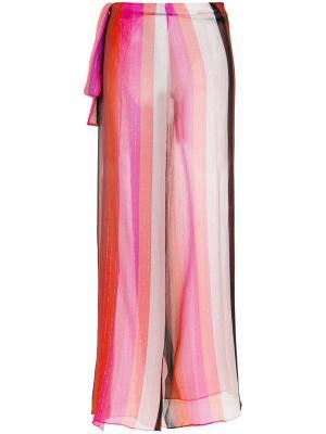 Striped pants Amir Slama. Цвет: многоцветный
