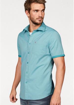 Рубашка с короткими рукавами Rhode Island. Цвет: нежно-зеленый