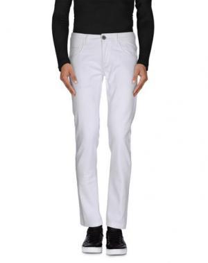 Джинсовые брюки ONE SEVEN TWO. Цвет: белый