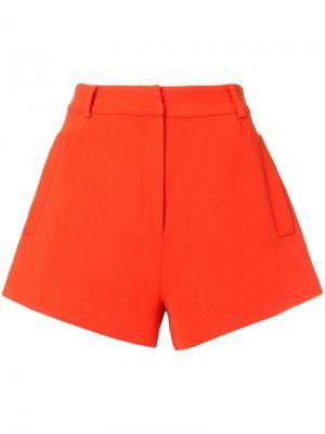 Классические короткие шорты Macgraw. Цвет: красный