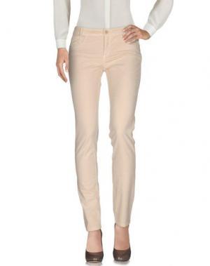 Повседневные брюки TANDEM. Цвет: бежевый