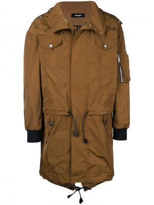 Trench coat Dsquared2. Цвет: коричневый