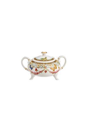 Сахарница Italy Design, 300 мл. Elff Ceramics. Цвет: голубой