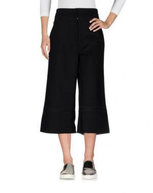 Джинсовые брюки-капри CHARLIE MAY. Цвет: черный