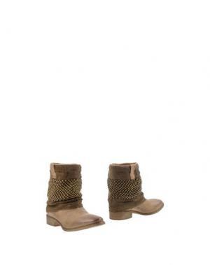 Полусапоги и высокие ботинки STRATEGIA. Цвет: песочный