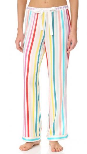 Пижамные брюки Chantal Morgan Lane. Цвет: мульти