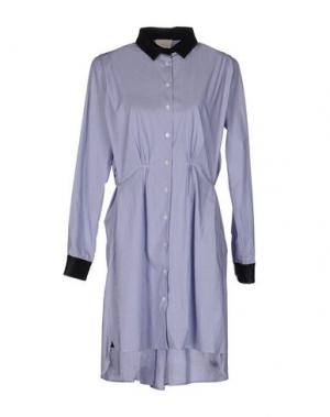 Короткое платье BOY BY BAND OF OUTSIDERS. Цвет: синий