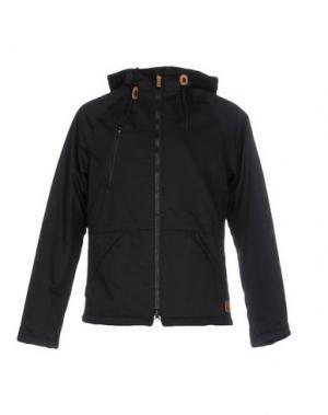 Куртка ENCORE. Цвет: черный
