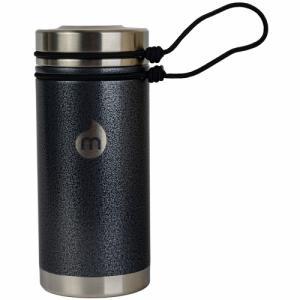 Термобутылка Для Воды MIZU. Цвет: gray hammer paint w/ sst lid & rope leash