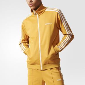 Олимпийка Beckenbauer  Originals adidas. Цвет: желтый