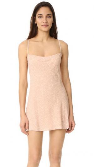 Мини-платье Molly Flynn Skye. Цвет: бежевый orbit