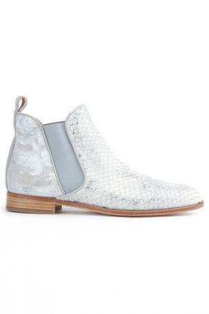 Ботинки Pertini. Цвет: серебряный