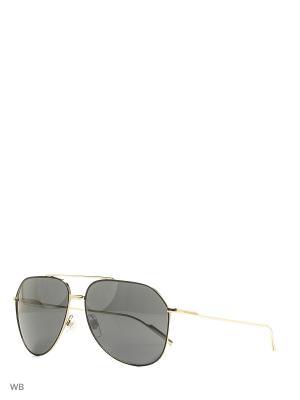 Очки солнцезащитные DOLCE & GABBANA. Цвет: золотистый