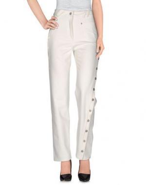 Повседневные брюки COURRÈGES. Цвет: белый