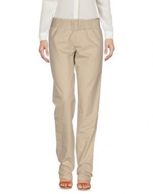 Повседневные брюки DIRK BIKKEMBERGS. Цвет: бежевый