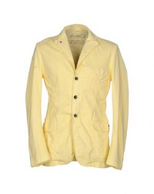 Пиджак AR AND J. Цвет: светло-желтый