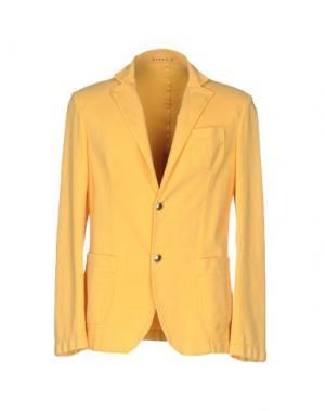 Пиджак FRADI. Цвет: желтый
