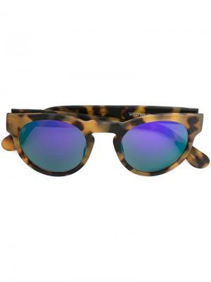 Солнцезащитные очки Voyager Westward Leaning. Цвет: телесный