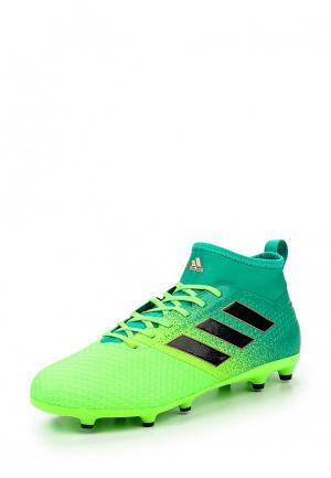 Шиповки adidas Performance. Цвет: зеленый