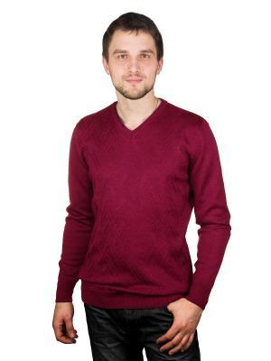 Пуловер CASINO. Цвет: бордовый, темно-бордовый