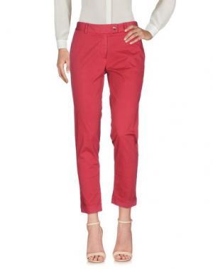 Повседневные брюки MÊME by GIAB'S. Цвет: кирпично-красный