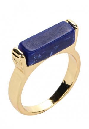 Кольцо Modis. Цвет: синий