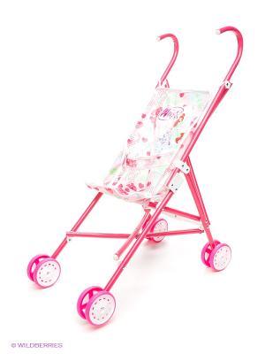 Коляска для кукол WINX CLUB. Цвет: розовый, малиновый