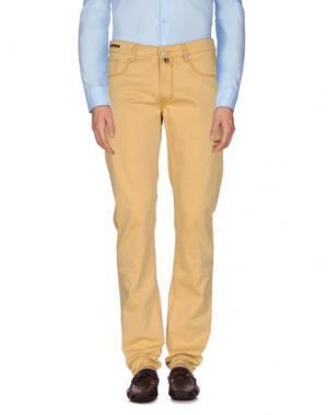 Повседневные брюки PT05. Цвет: песочный