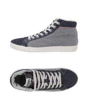Высокие кеды и кроссовки SPRINGA. Цвет: темно-синий