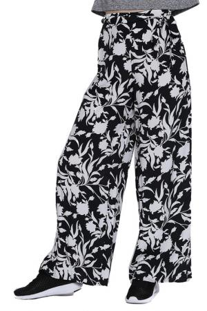 Trousers Emma Monti. Цвет: black, white