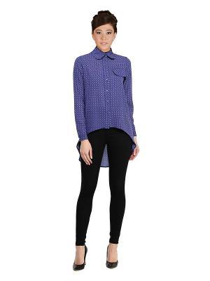 Рубашка Кристал Sahera Rahmani. Цвет: синий