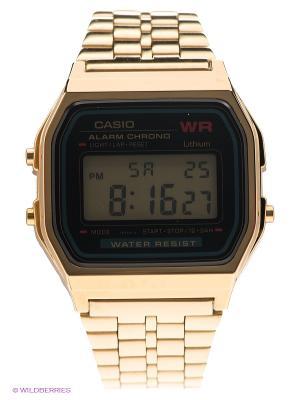 Часы Casio A-159WGEA-1E. Цвет: золотистый