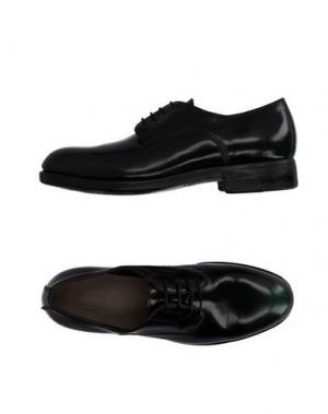 Обувь на шнурках PREVENTI. Цвет: темно-зеленый