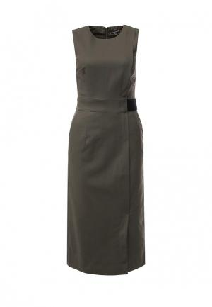 Платье Warehouse. Цвет: хаки