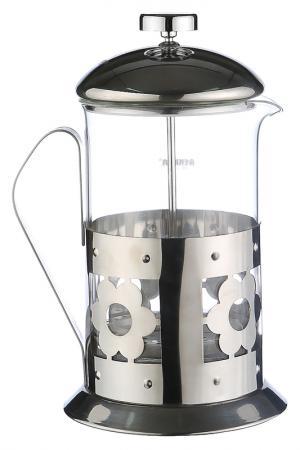 Чайник, кофейник 800 мл Bekker. Цвет: серебро