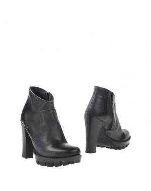 Полусапоги и высокие ботинки BLACKMAIL. Цвет: стальной серый