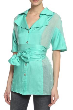 Блуза Oblique. Цвет: мятный